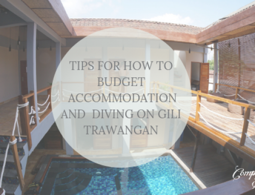 Tips for how to budget accommodation and scuba diving on Gili Trawangan