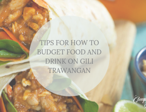 Tips for how to budget food and drink on Gili Trawangan