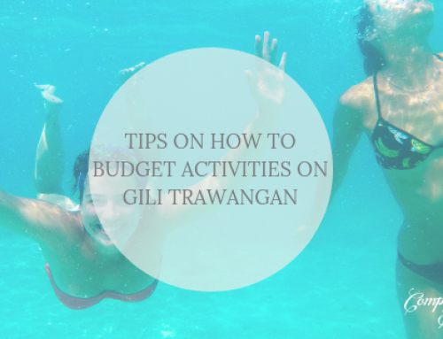 Tips on how to budget activities on Gili Trawangan
