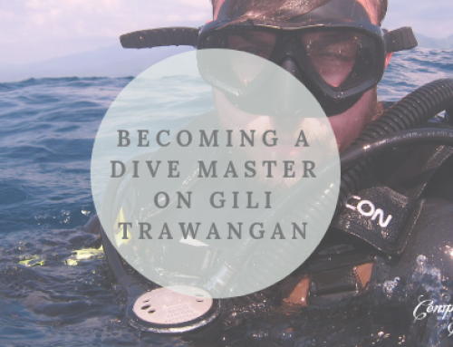 Becoming a Dive Master in Gili Trawangan.