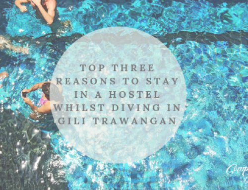 Top three reasons to stay at a hostel whilst diving in Gili Trawangan